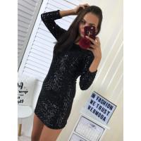 Elegantné šaty Black