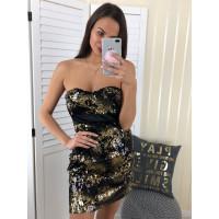 Flitrované šaty Shake 3