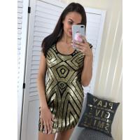 Spoločenské šaty Goldor
