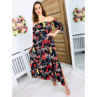 Kvetované šaty Amor