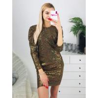 Dámske zlaté šaty