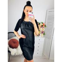 Krátke čierne spoločenské šaty