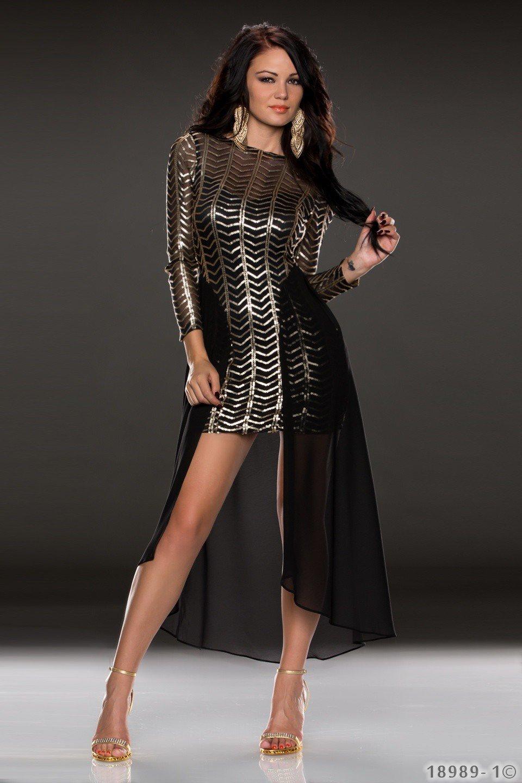 f405c48b4efa Extravagantné šaty Gold
