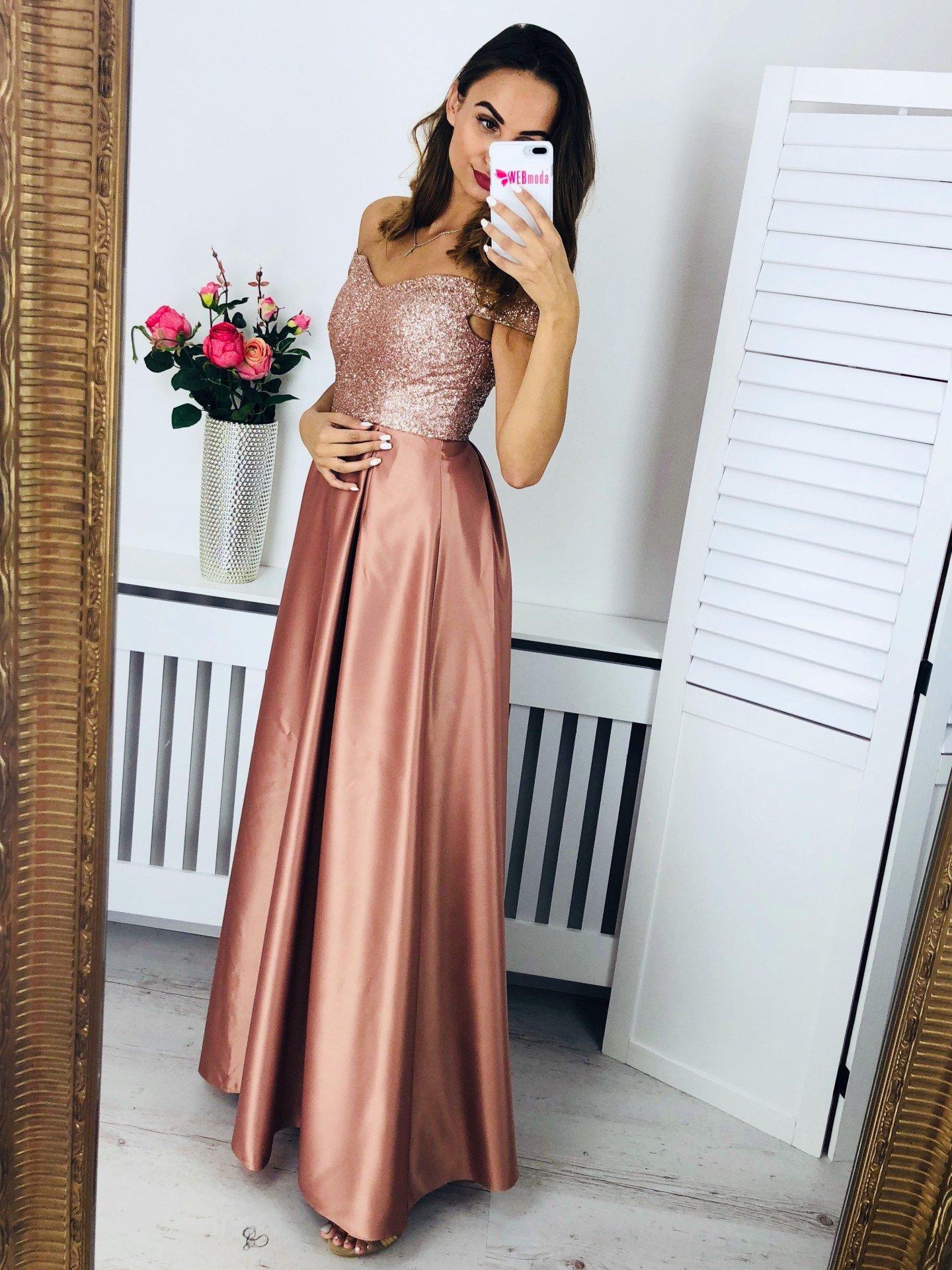 9029ac484 Dlhé spoločenské šaty Sia | WEBmoda.sk - štýlová móda lacno