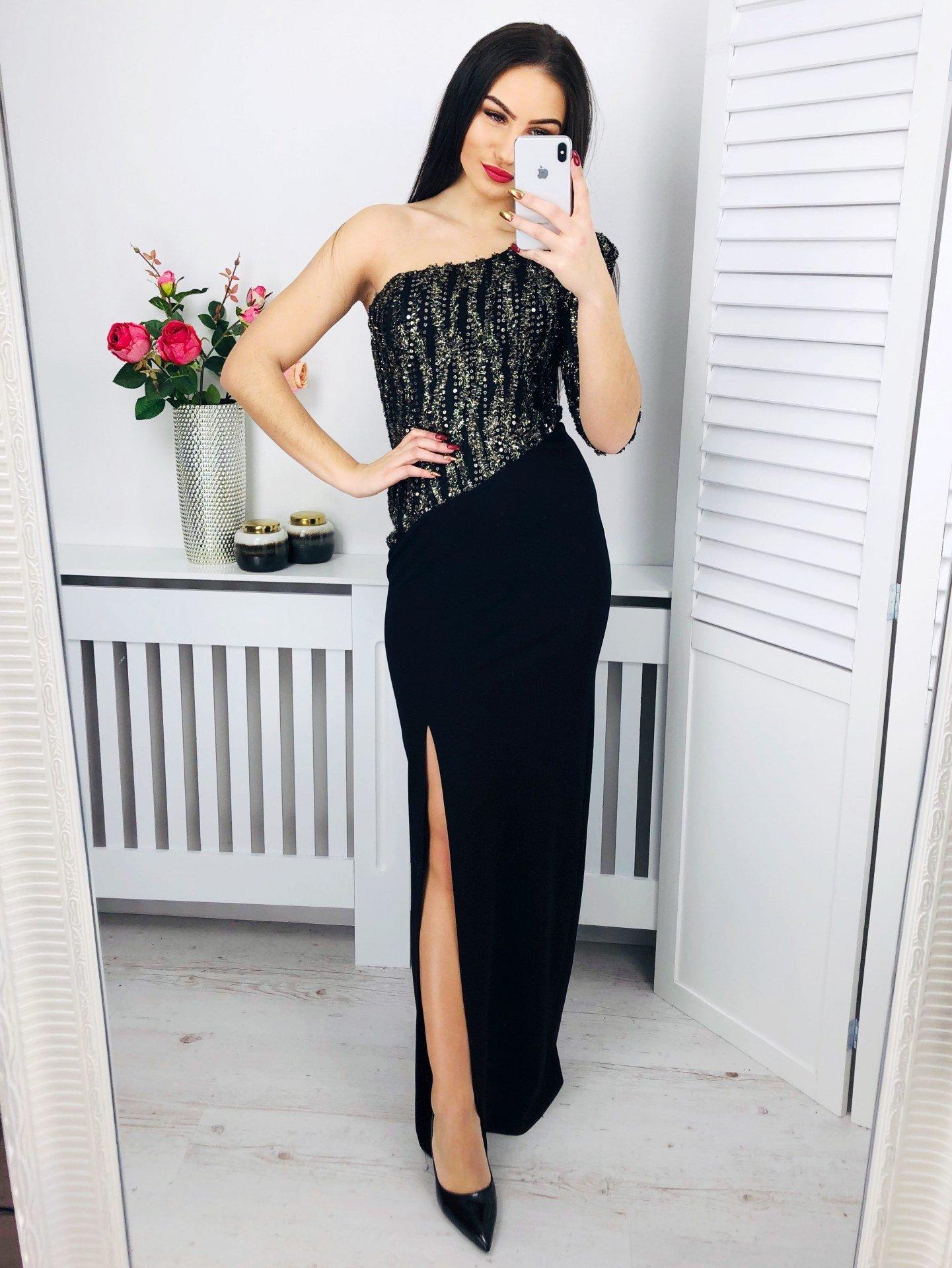 7073ffb1bfd0 Dlhé spoločenské šaty Luxoma